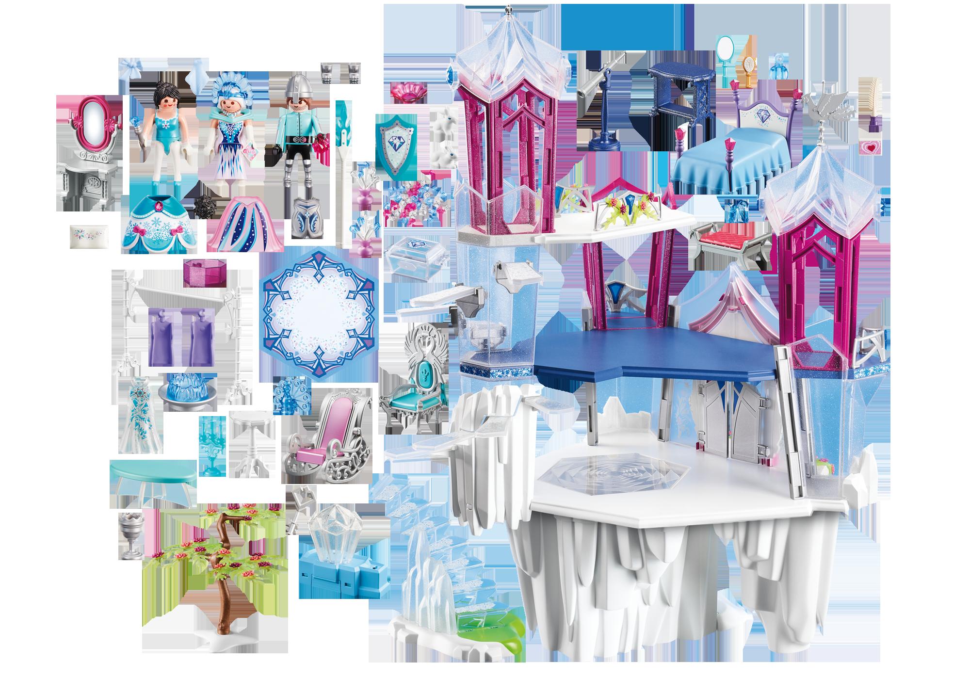 http://media.playmobil.com/i/playmobil/9469_product_box_back/Funkelnder Kristallpalast