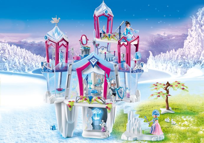 Queen Sled for Palace Playmobil Magical Winter Sleigh Fairytale NEW