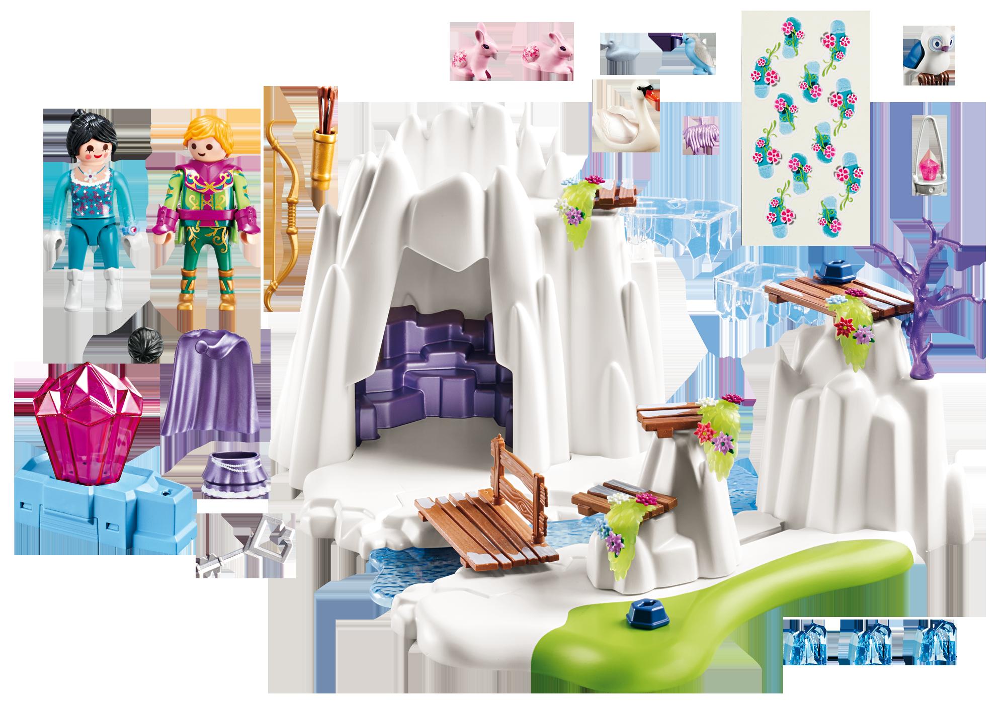 http://media.playmobil.com/i/playmobil/9470_product_box_back/Grotte du diamant Cristal  d'amour