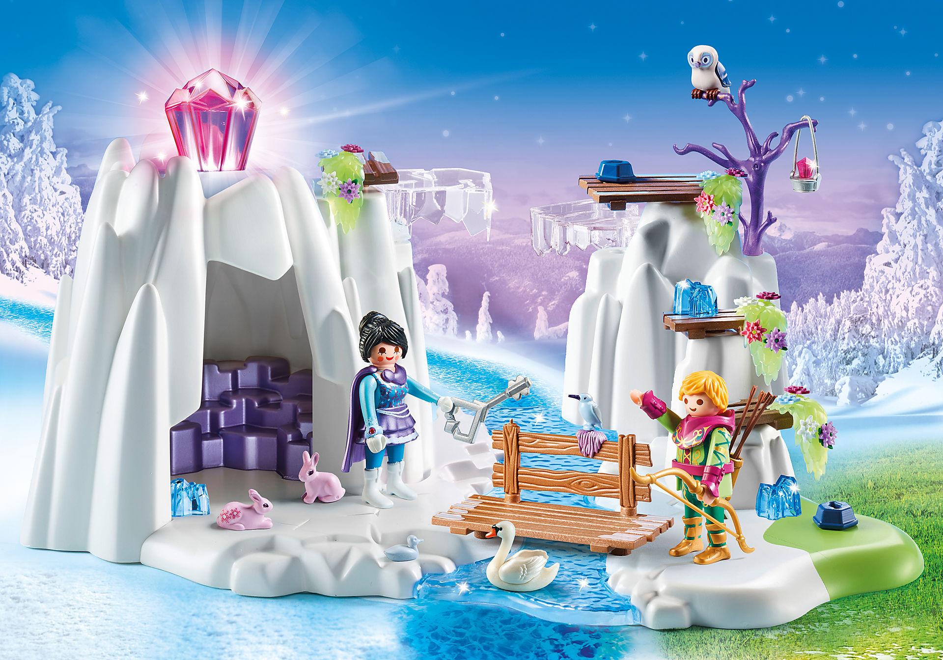 http://media.playmobil.com/i/playmobil/9470_product_detail/Búsqueda del Diamante de Cristal