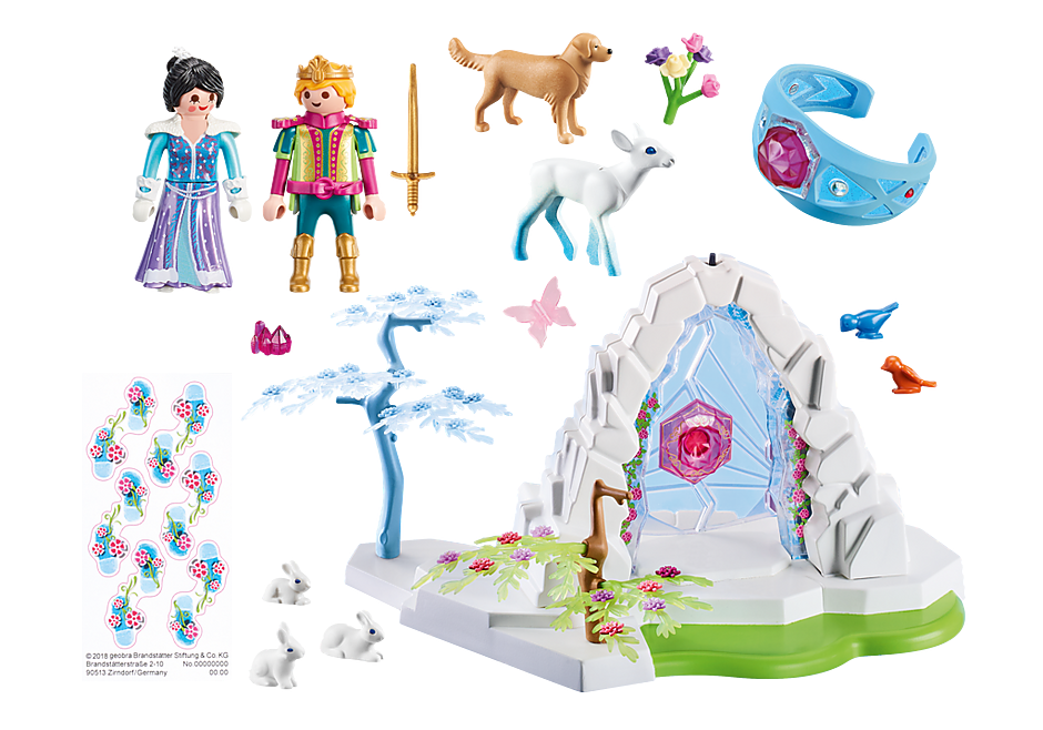 http://media.playmobil.com/i/playmobil/9471_product_box_back/Portão de Cristal do Mundo de Inverno