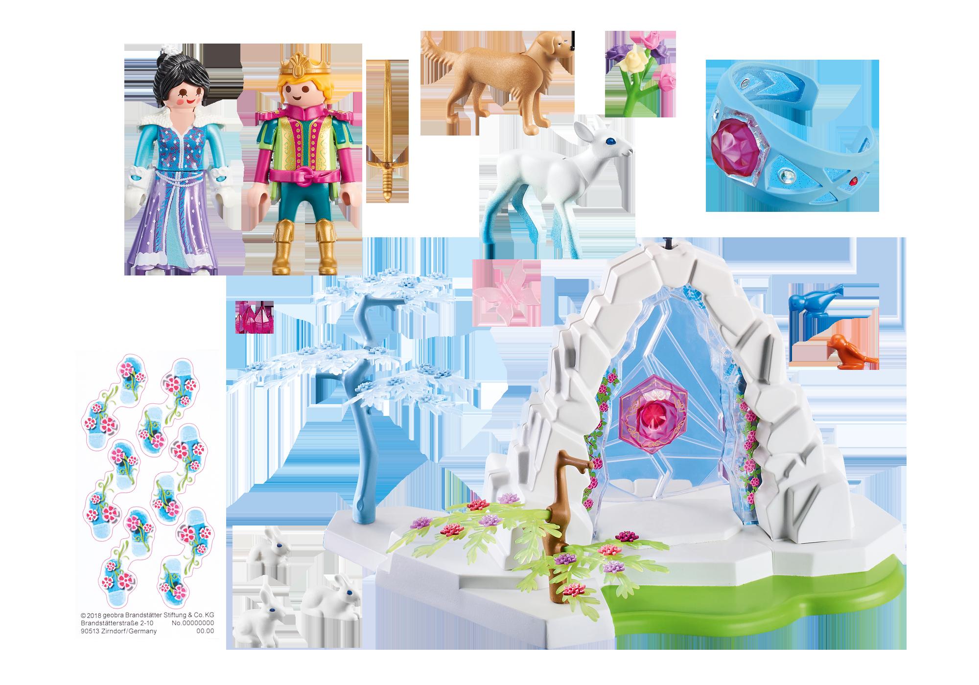 http://media.playmobil.com/i/playmobil/9471_product_box_back/Portão de Cristal do Mundo de Inverno