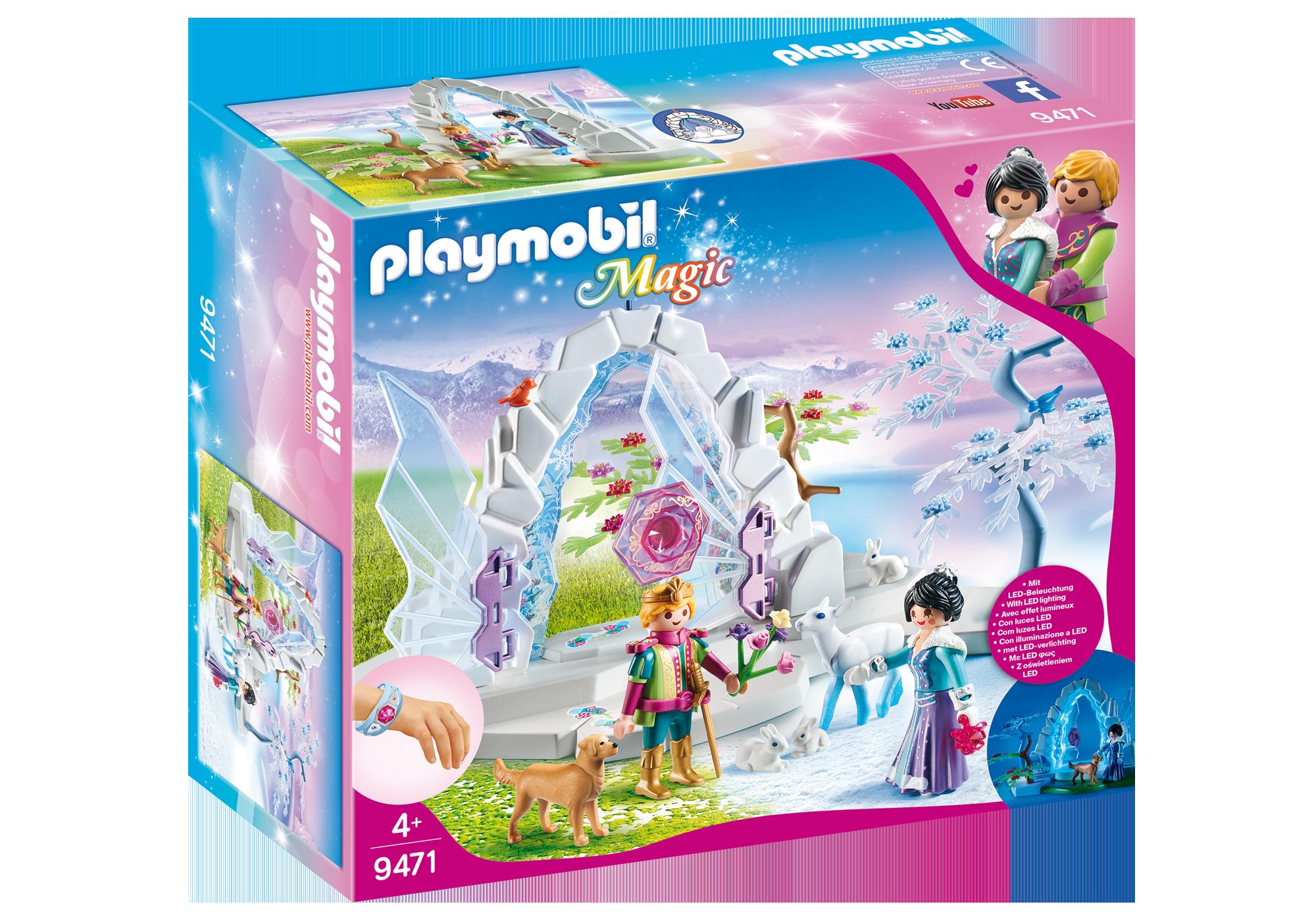 http://media.playmobil.com/i/playmobil/9471_product_box_front/Κρυστάλλινη πύλη του Παγωμένου Κόσμου