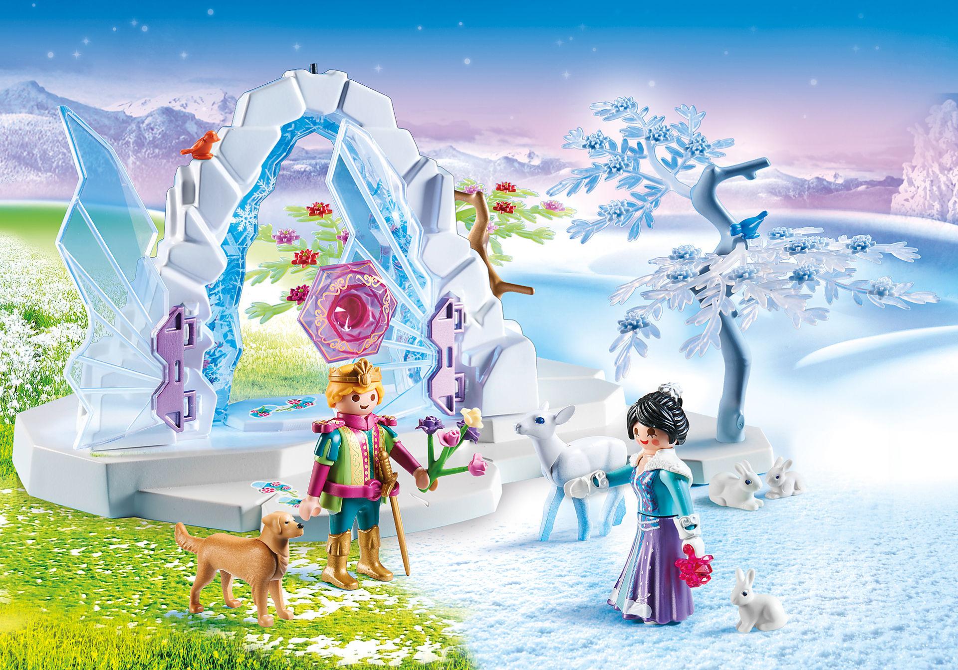 http://media.playmobil.com/i/playmobil/9471_product_detail/Portão de Cristal do Mundo de Inverno