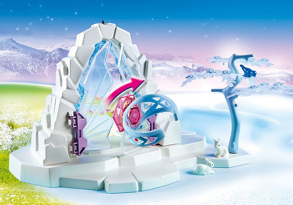 9471 Crystal Gate to the Winter World detail image 5