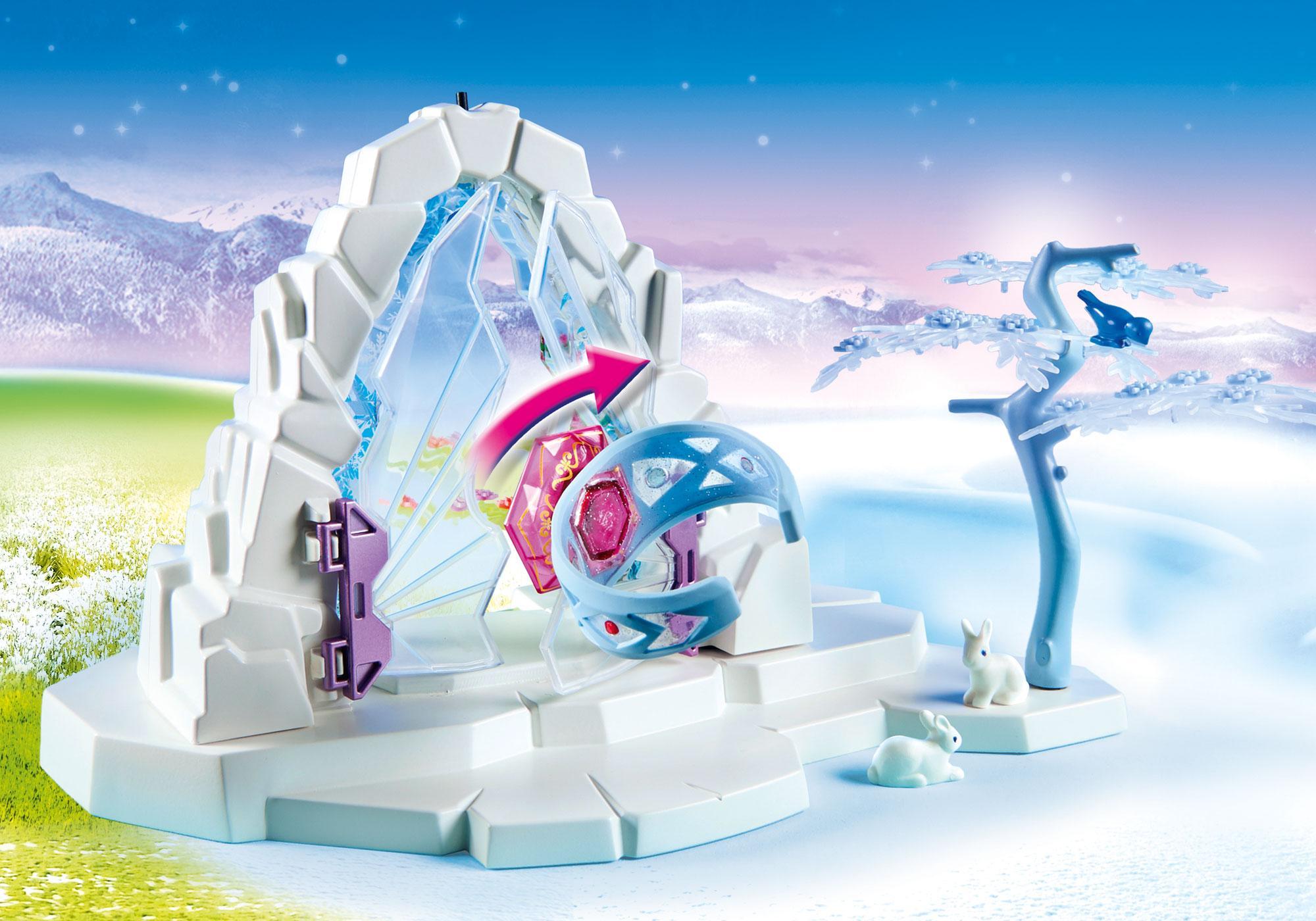 http://media.playmobil.com/i/playmobil/9471_product_extra2/Kristallen poort naar Winterland