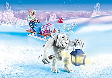 9473 Trol de Nieve con Trineo
