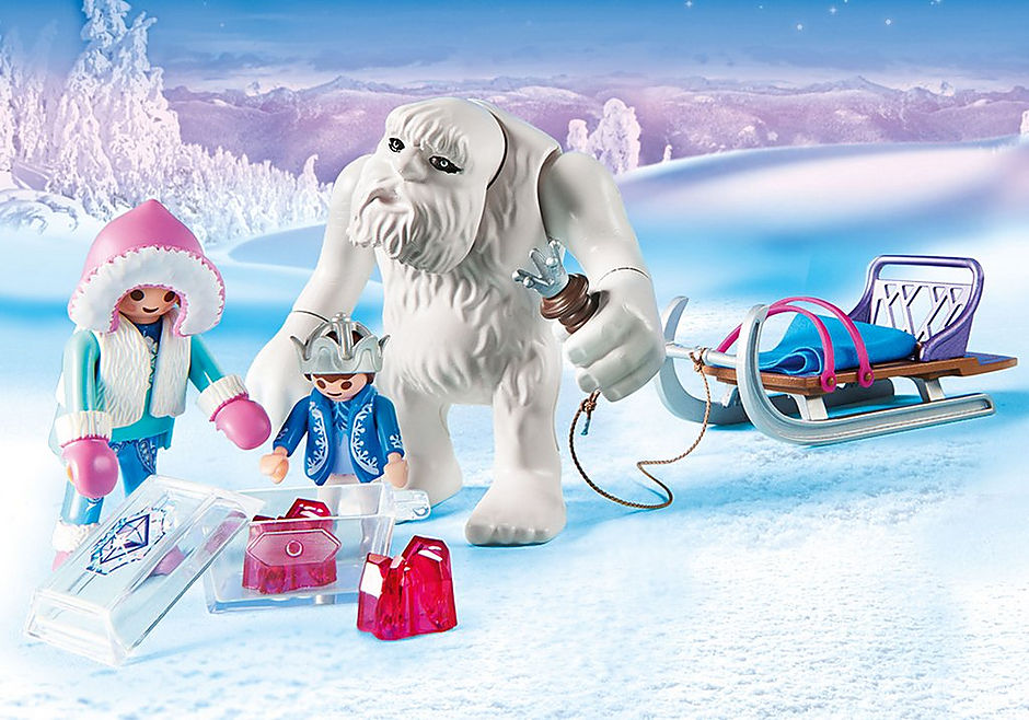 9473 Yeti with Sleigh detail image 4