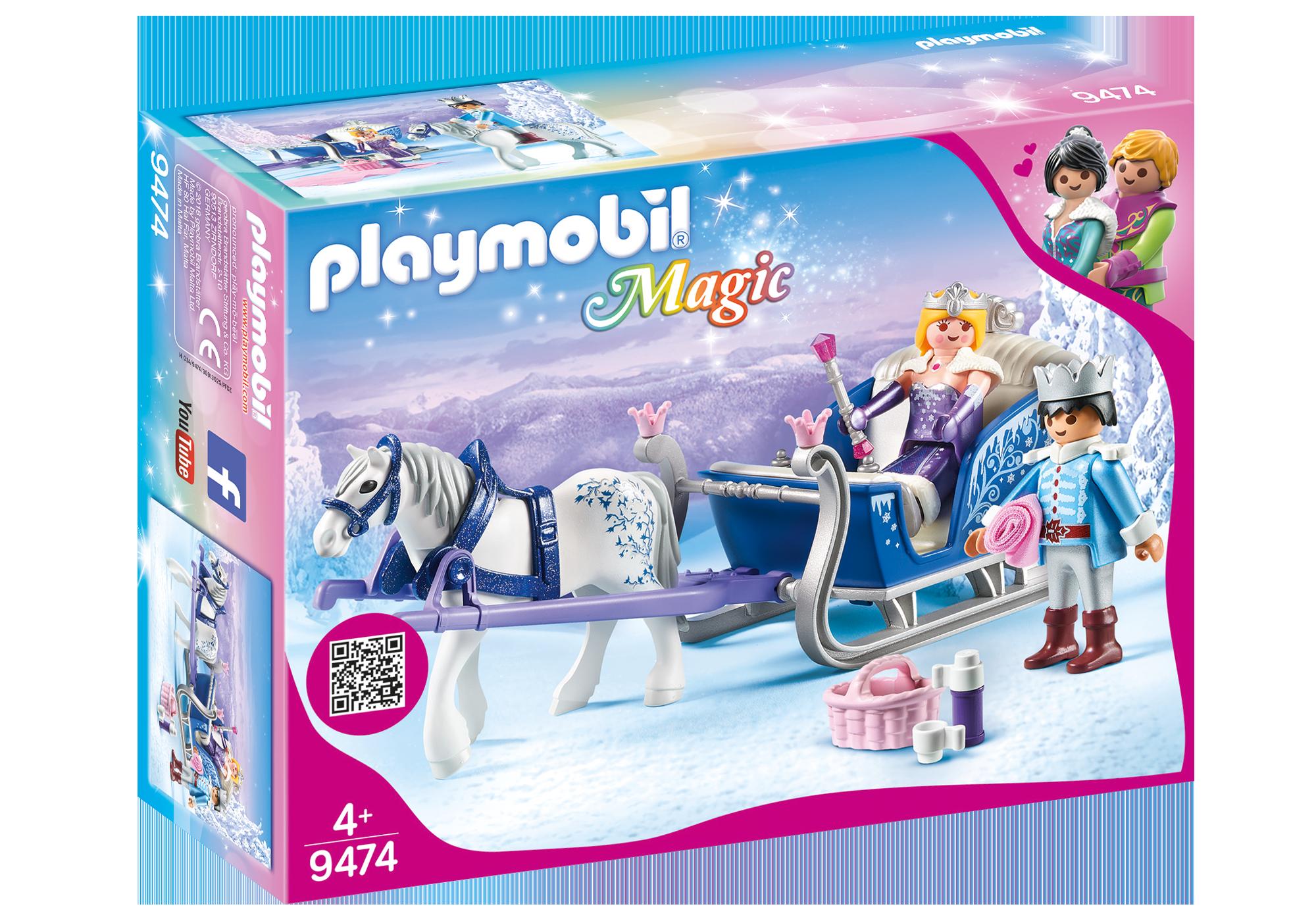 http://media.playmobil.com/i/playmobil/9474_product_box_front/Έλκηθρο με βασιλικό ζευγάρι