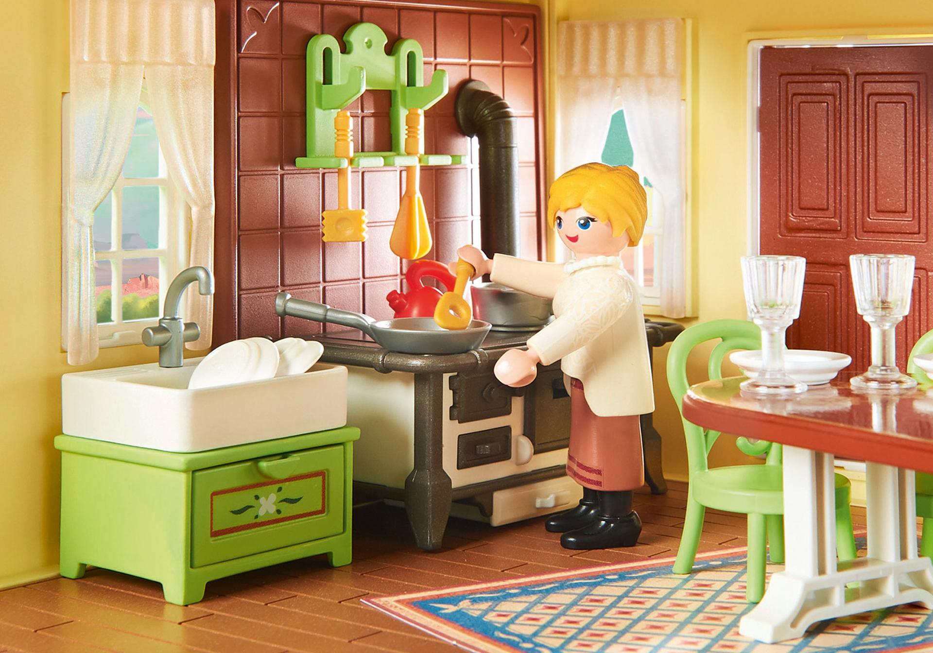 playmobil k che villa sehr kleine k che ikea stehtisch korpush he unterbauleuchte inspiration. Black Bedroom Furniture Sets. Home Design Ideas