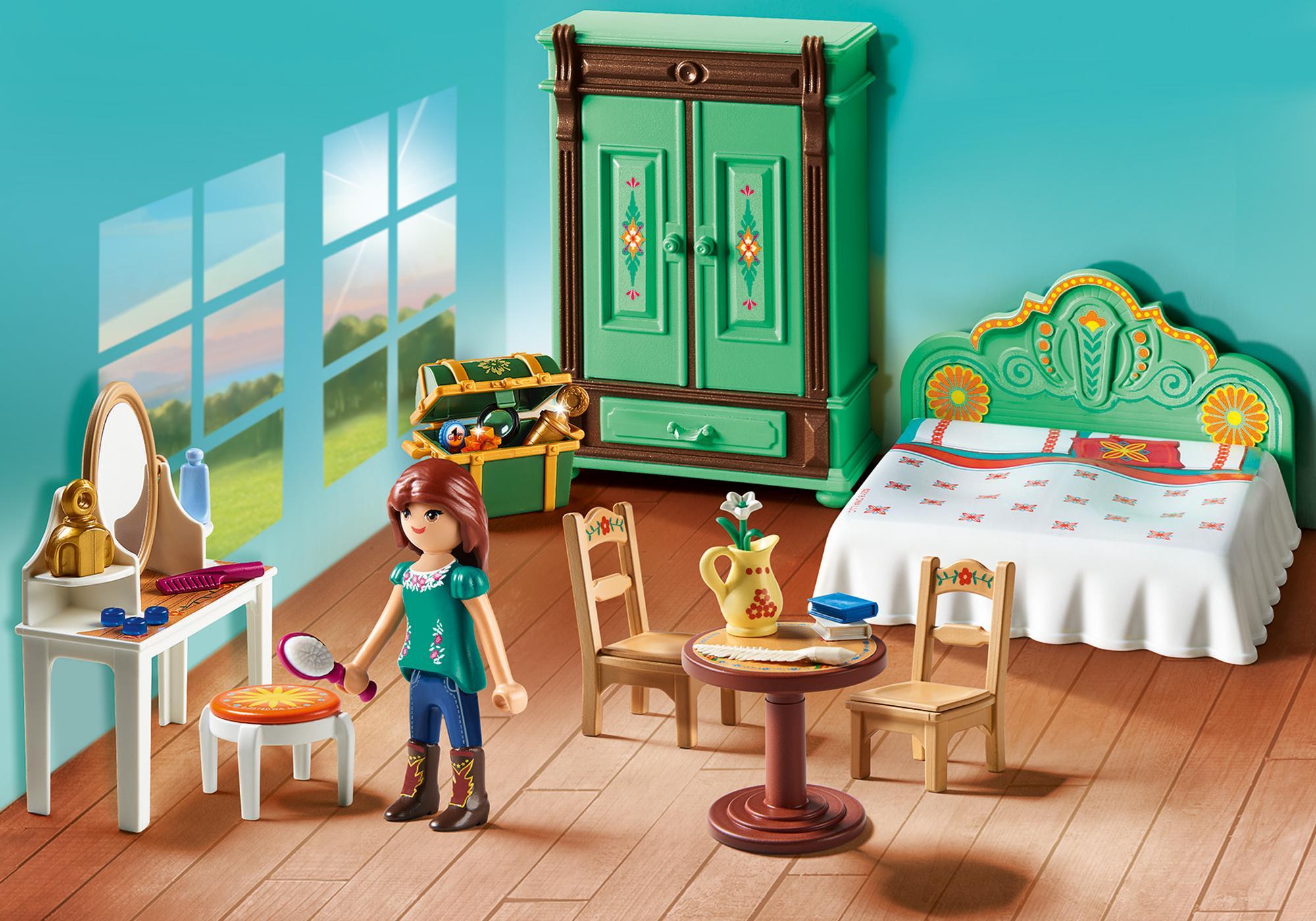 Inrichting Slaapkamer Ouders : Lucky s slaapkamer playmobil nederland