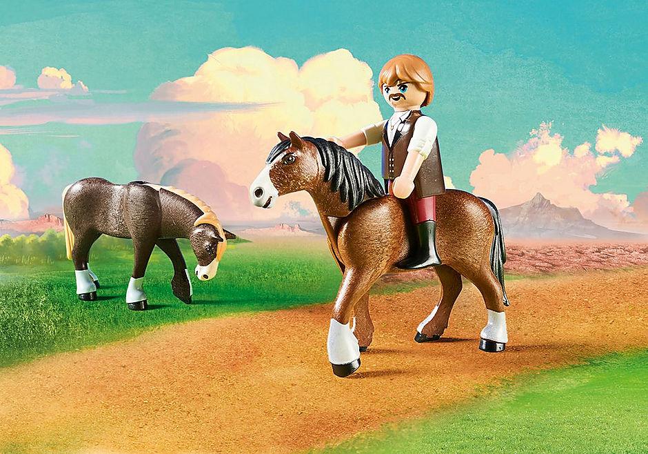 http://media.playmobil.com/i/playmobil/9477_product_extra1/Vater Jim mit Kutsche