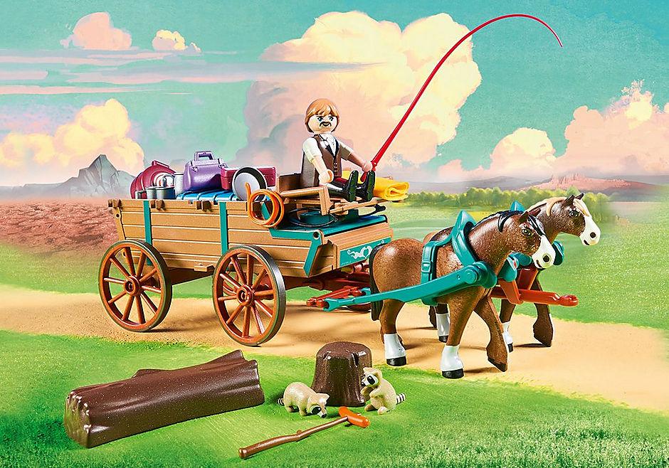 9477 Lucky's vader en wagen detail image 5