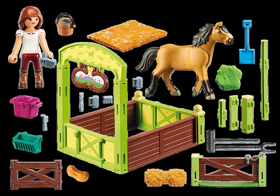 """9478 Hästbox """"Lucky och Spirit"""" detail image 3"""