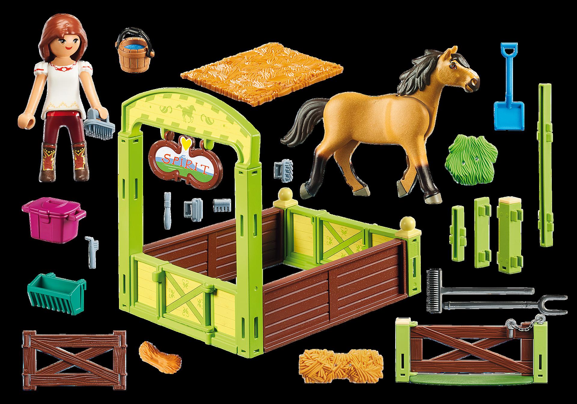 """9478 Hästbox """"Lucky och Spirit"""" zoom image3"""