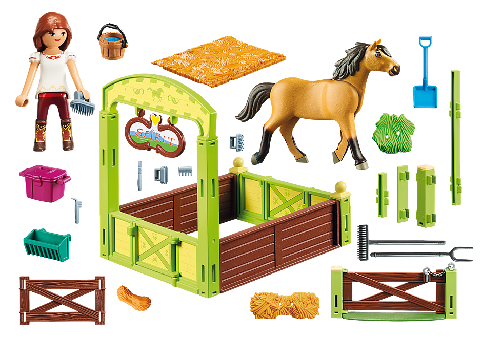 9478 Lucky & Spirit met paardenbox detail image 3