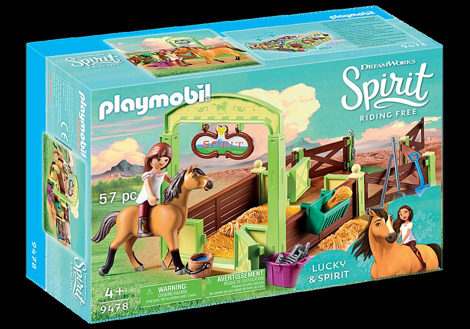 9478 Lucky et  Spirit avec box  detail image 2