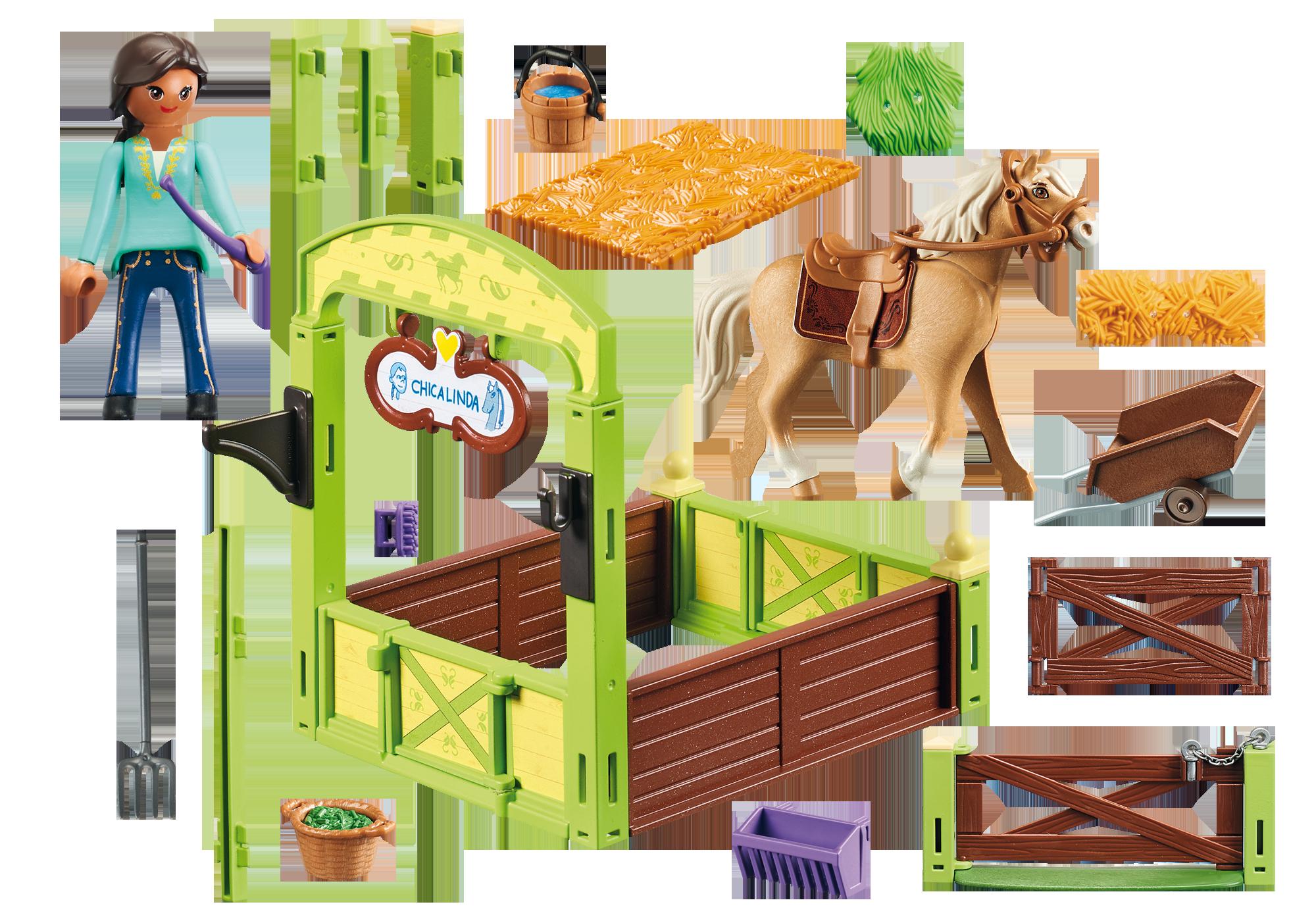 http://media.playmobil.com/i/playmobil/9479_product_box_back/Pru & Chica Linda with Horse Stall