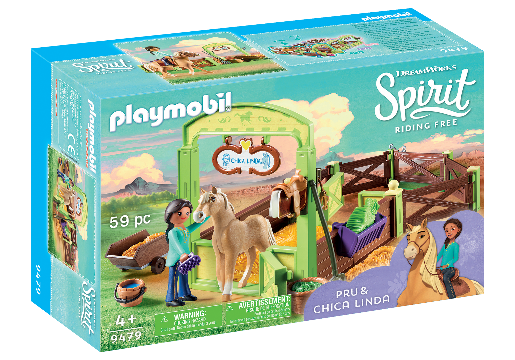 http://media.playmobil.com/i/playmobil/9479_product_box_front/Pru & Chica Linda with Horse Stall