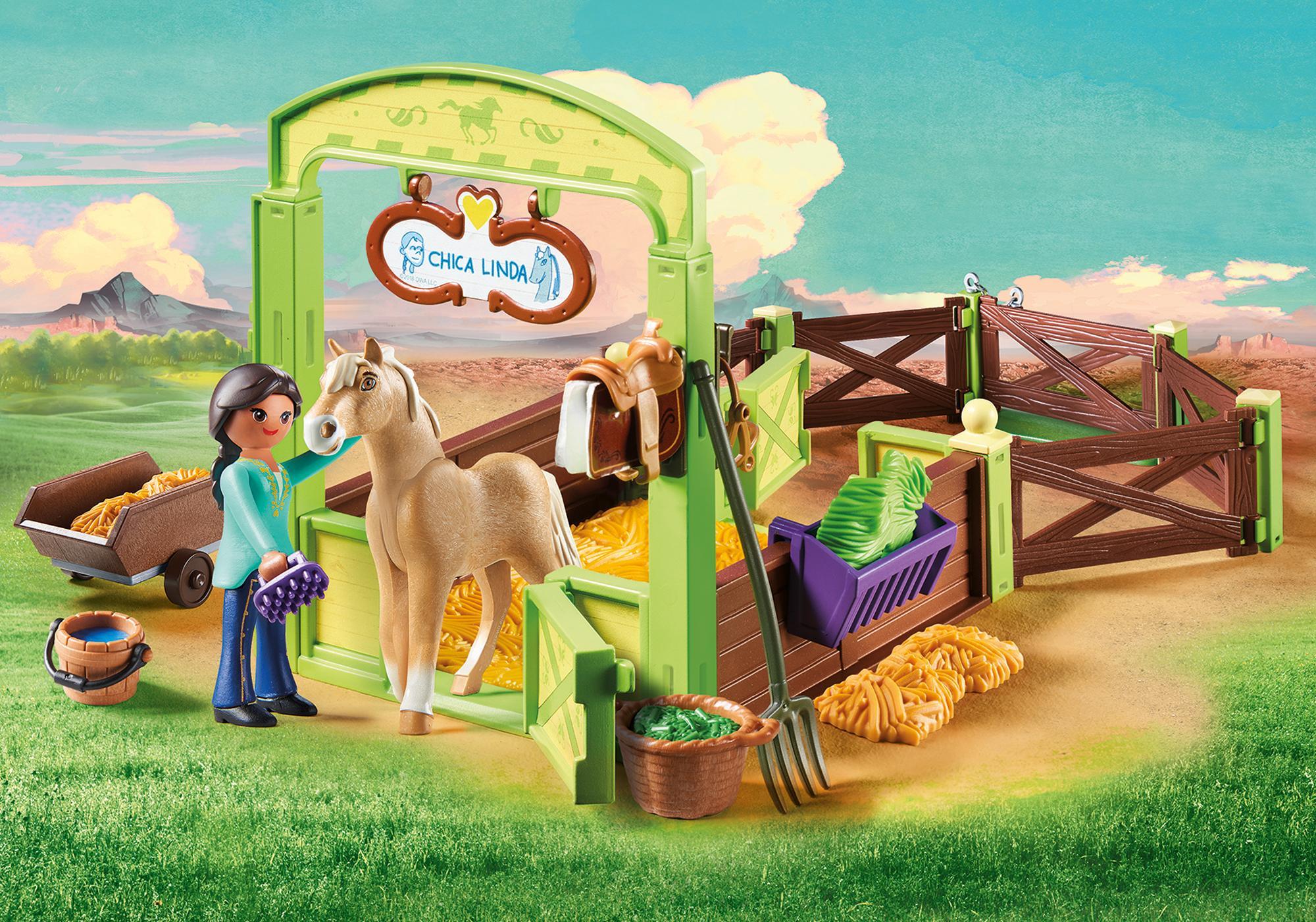 http://media.playmobil.com/i/playmobil/9479_product_detail/Establo Pru y Chica Linda