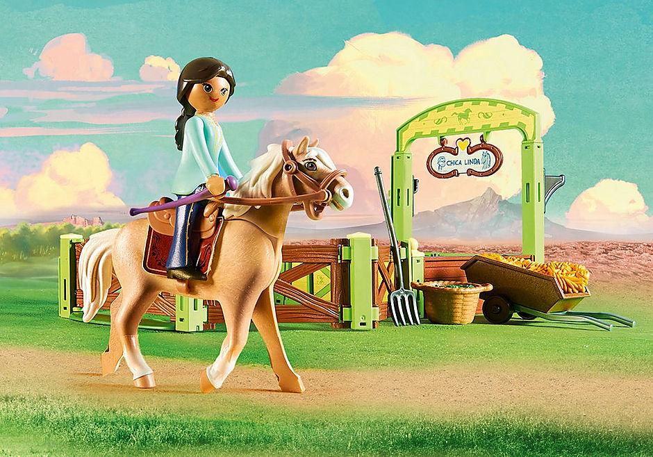 http://media.playmobil.com/i/playmobil/9479_product_extra1/Pru & Chica Linda with Horse Stall