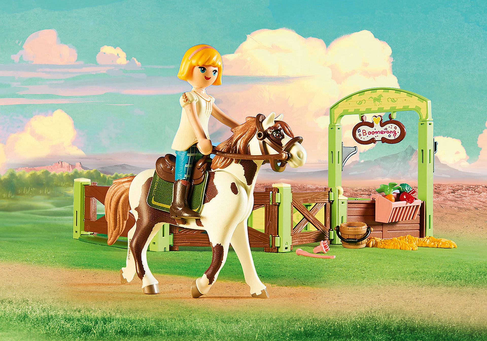 http://media.playmobil.com/i/playmobil/9480_product_extra1/Η Άμπιγκεϊλ με το άλογο Μπούμερανγκ