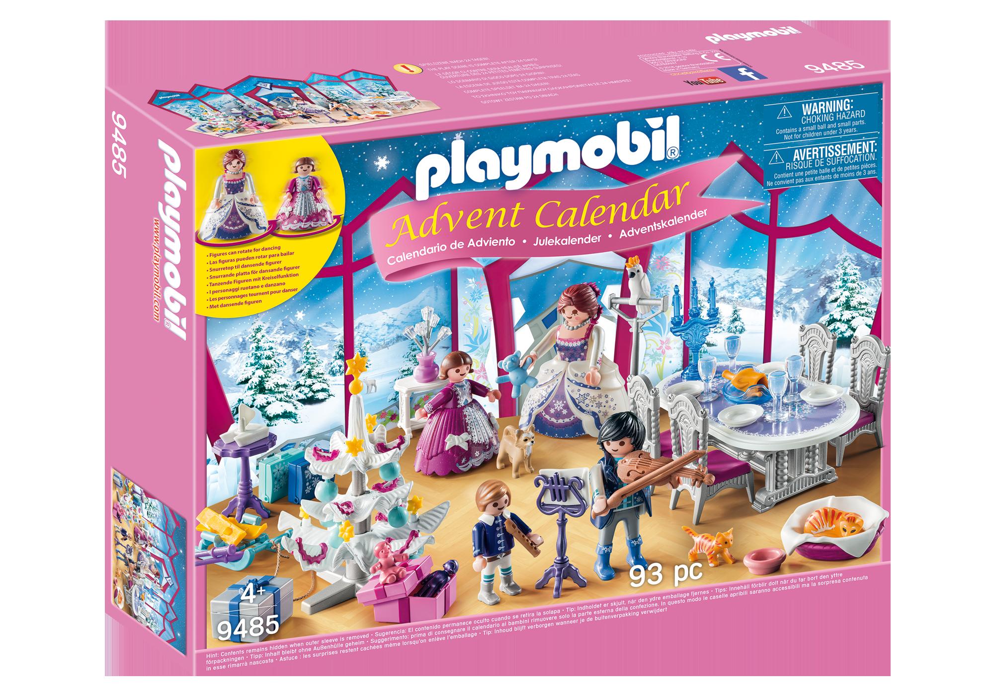 """http://media.playmobil.com/i/playmobil/9485_product_box_front/Kalendarz adwentowy """"Świąteczny bal w kryształowej sali"""""""