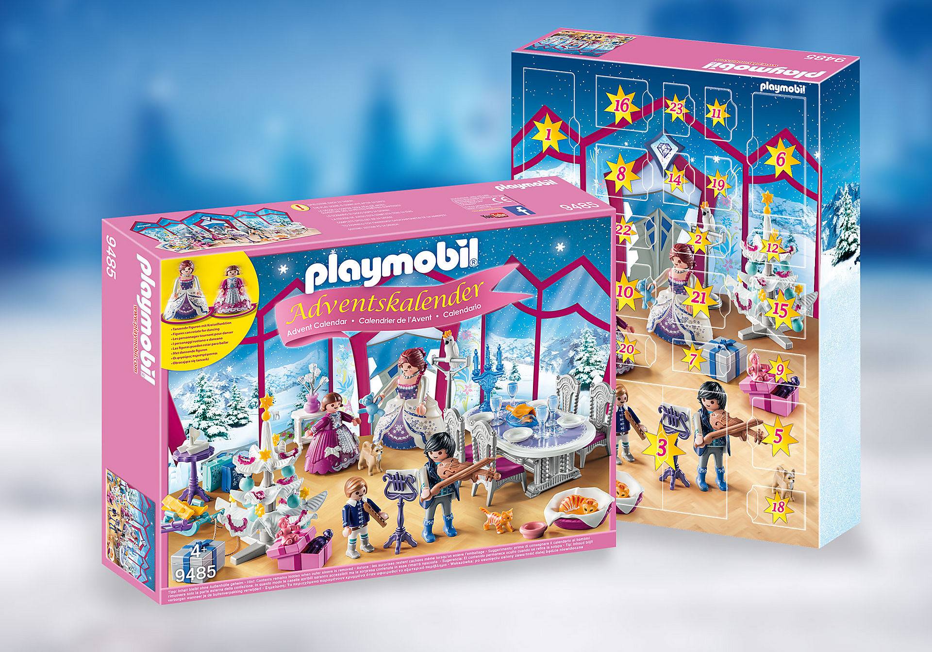 9485 Adventskalender 'Kerstfeest in het kristallen salon'  zoom image1