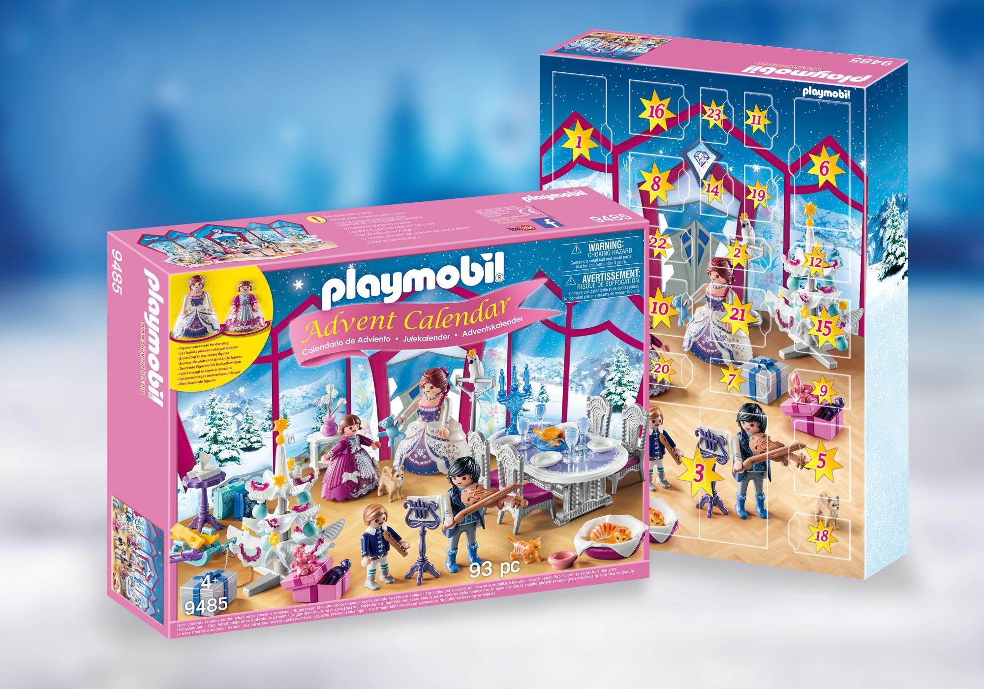 """http://media.playmobil.com/i/playmobil/9485_product_detail/Kalendarz adwentowy """"Świąteczny bal w kryształowej sali"""""""