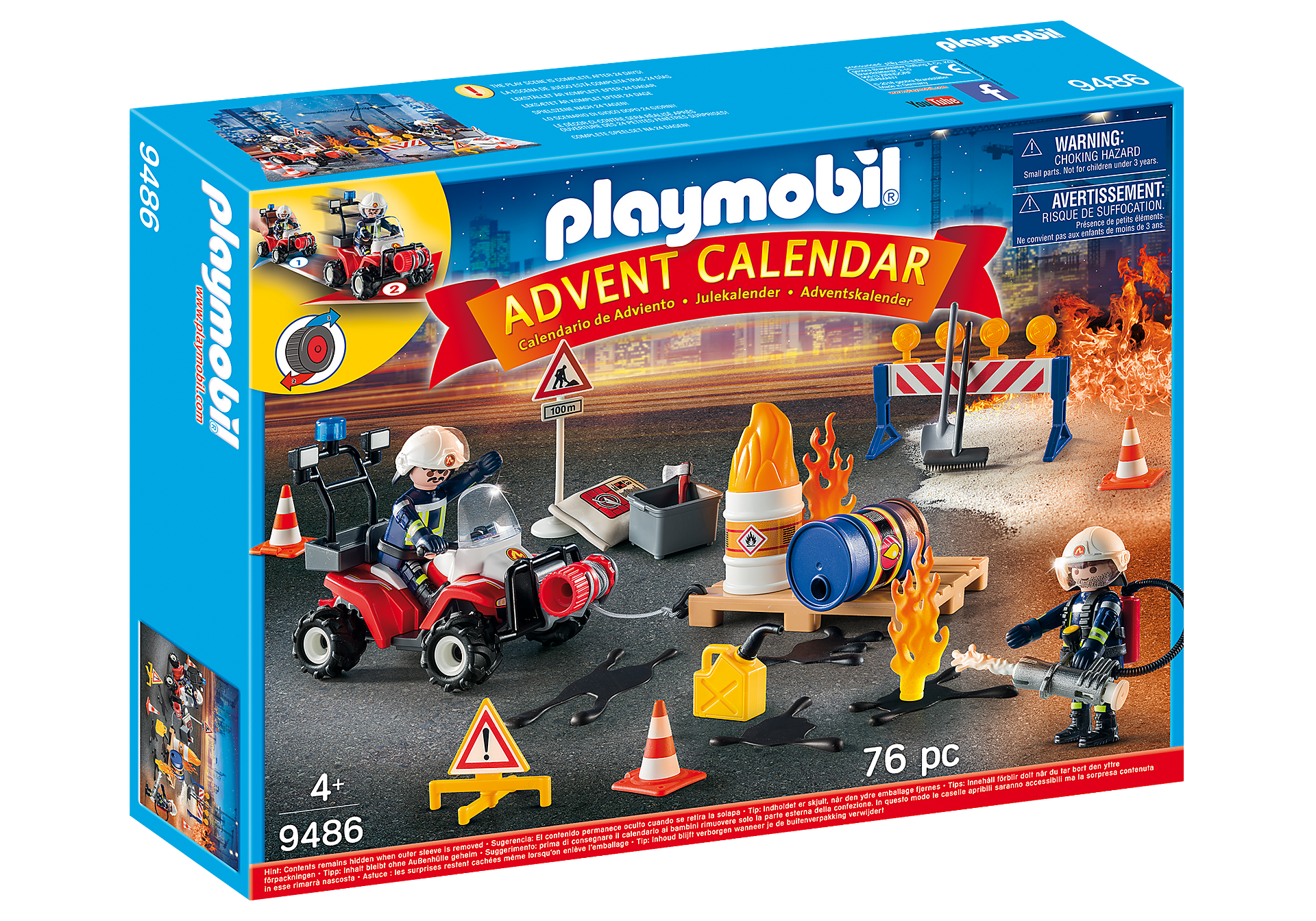 9486 Advent Calendar - Construction Site Fire Rescue zoom image2