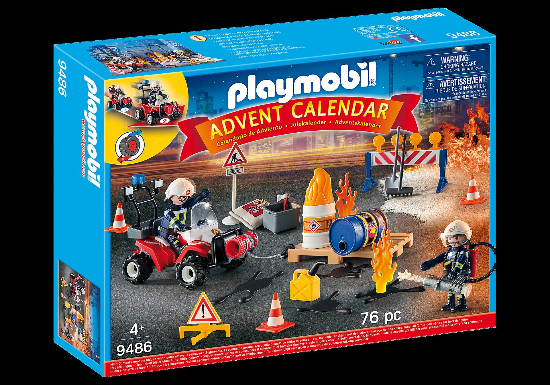 9486 Advent Calendar - Construction Site Fire Rescue zoom image2