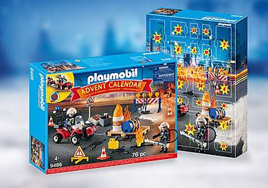 9486 Χριστουγεννιάτικο Ημερολόγιο - Επιχείρηση πυρόσβεσης Εργοταξίου