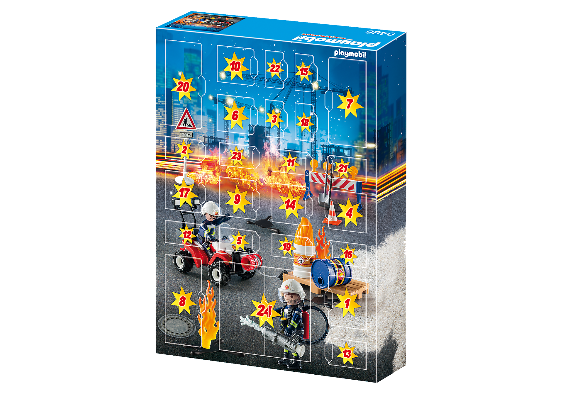 9486 Advent Calendar - Construction Site Fire Rescue zoom image4