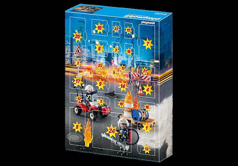 9486 Calendrier de l'Avent  'Pompiers et incendie de chantier'  detail image 4