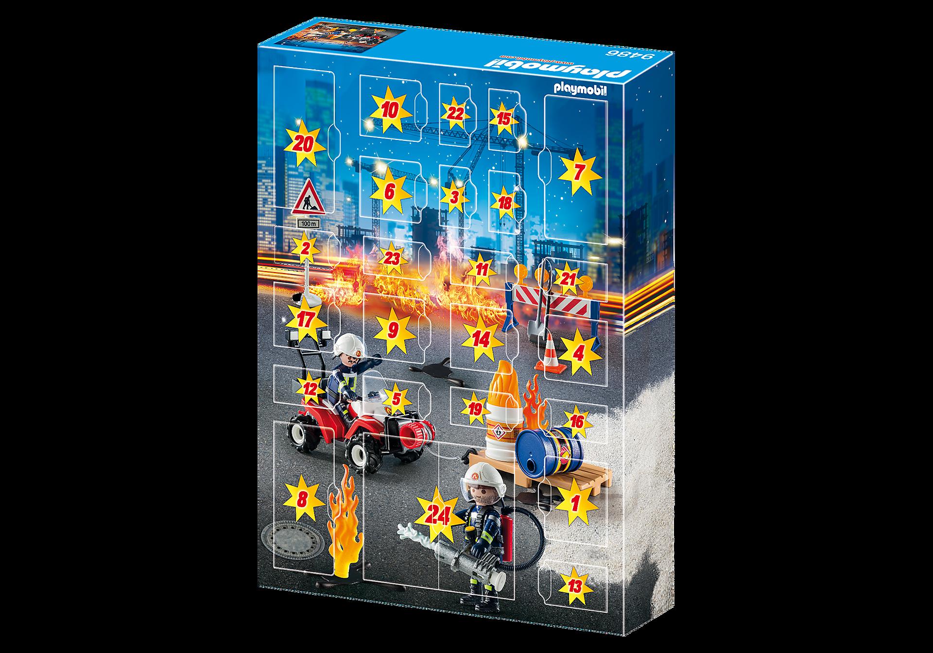 9486 Calendrier de l'Avent  'Pompiers et incendie de chantier'  zoom image4