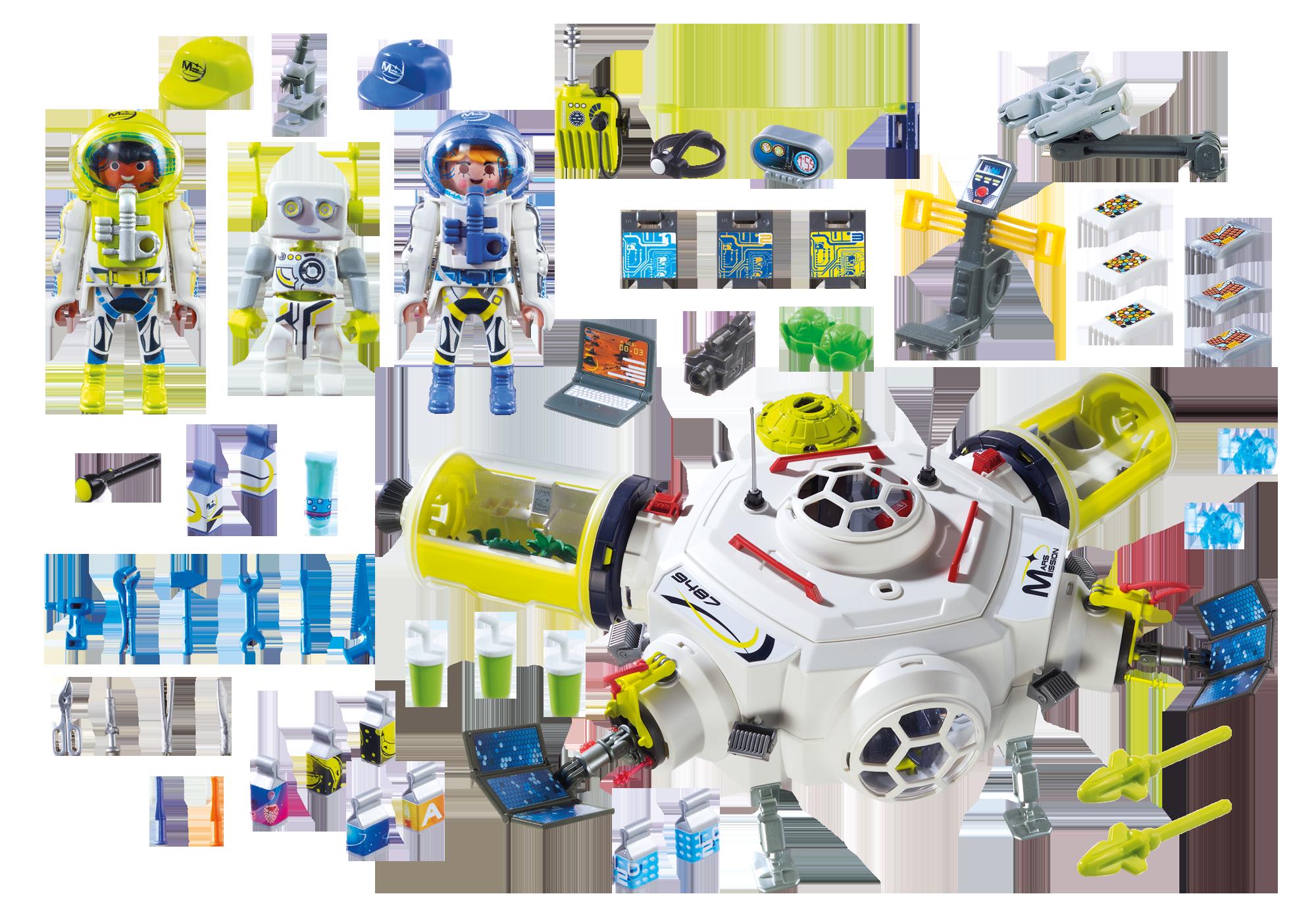 http://media.playmobil.com/i/playmobil/9487_product_box_back/Διαστημικός Σταθμός στον Άρη