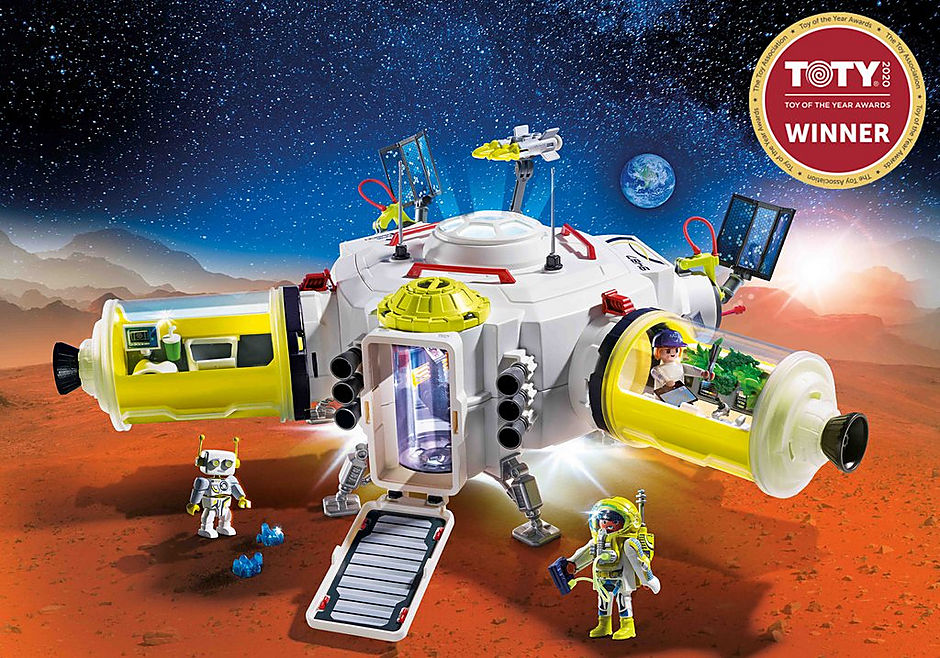 9487 Ruimtestation op Mars detail image 1