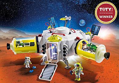 9487 Stazione spaziale su Marte