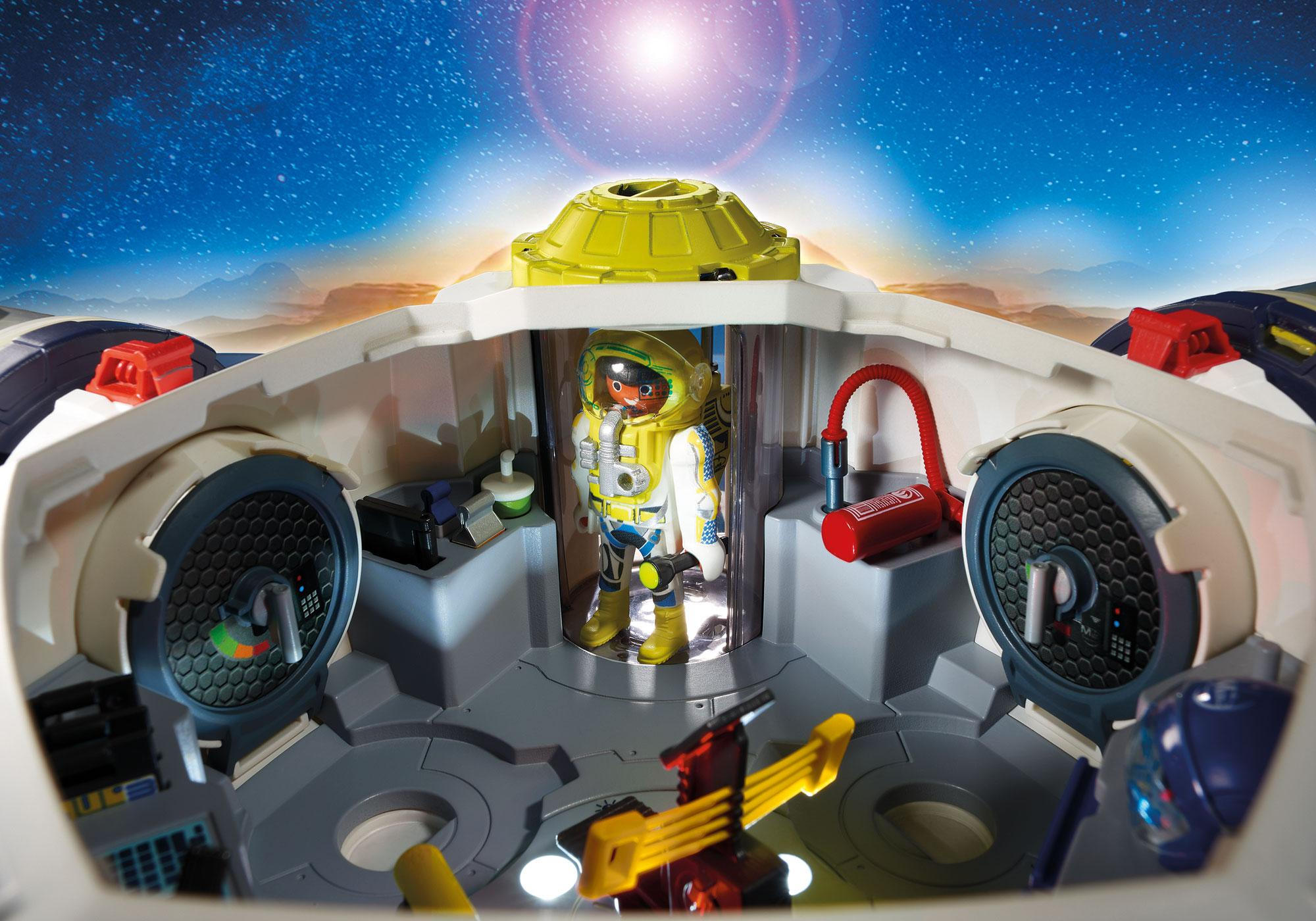 http://media.playmobil.com/i/playmobil/9487_product_extra2/Διαστημικός Σταθμός στον Άρη