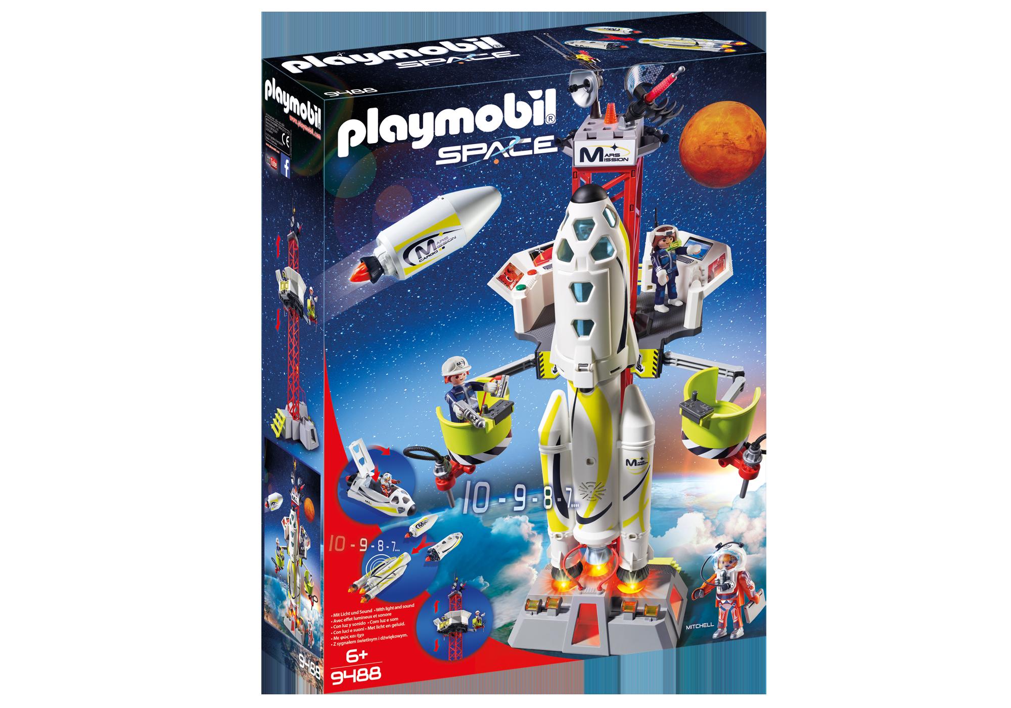 http://media.playmobil.com/i/playmobil/9488_product_box_front/Fusée Mars avec plateforme de lancement