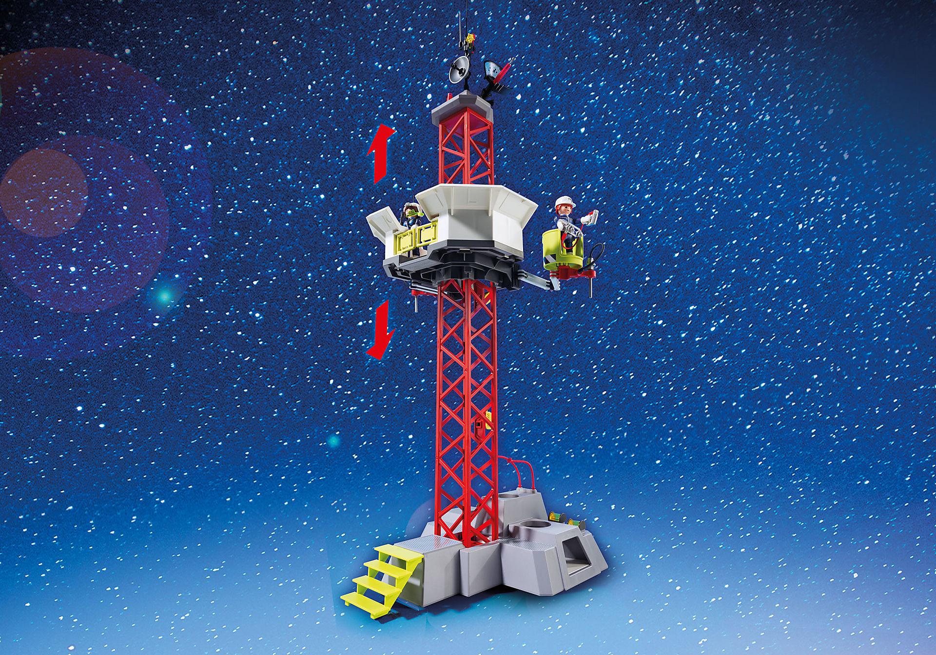 http://media.playmobil.com/i/playmobil/9488_product_extra3/Πύραυλος διαστημικής αποστολής με σταθμό εκτόξευσης