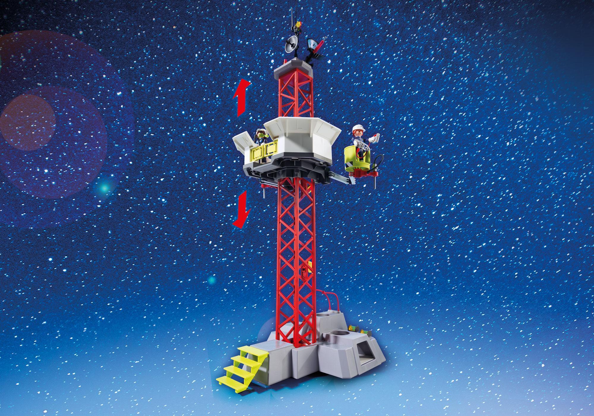 http://media.playmobil.com/i/playmobil/9488_product_extra3/Cohete con Plataforma de Lanzamiento