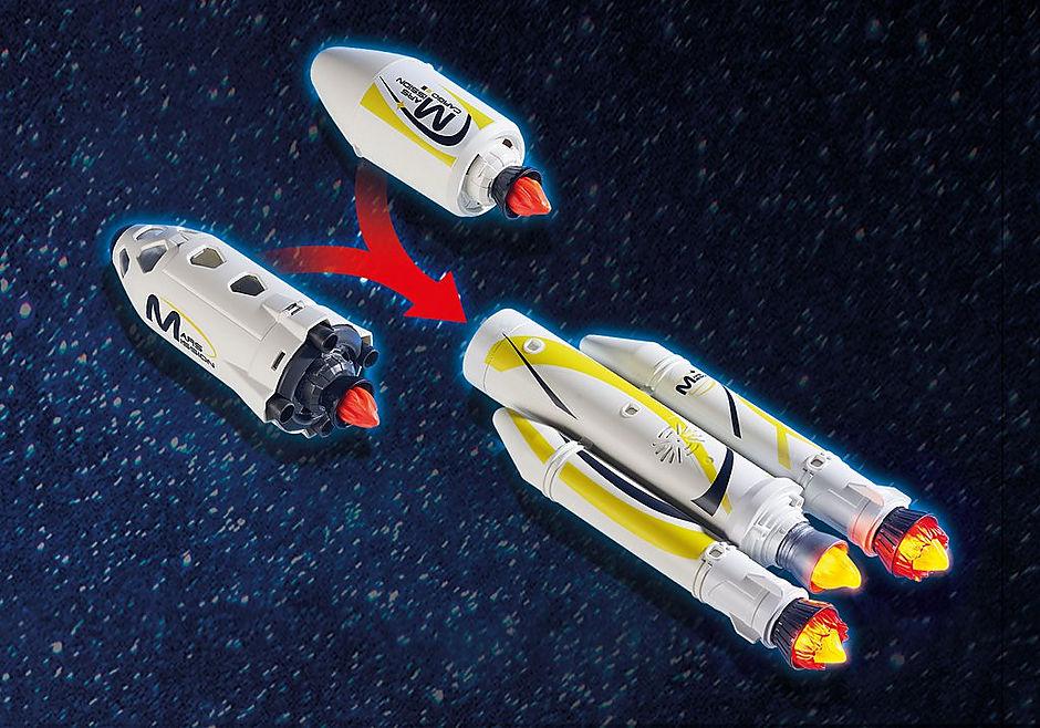 http://media.playmobil.com/i/playmobil/9488_product_extra4/Πύραυλος διαστημικής αποστολής με σταθμό εκτόξευσης