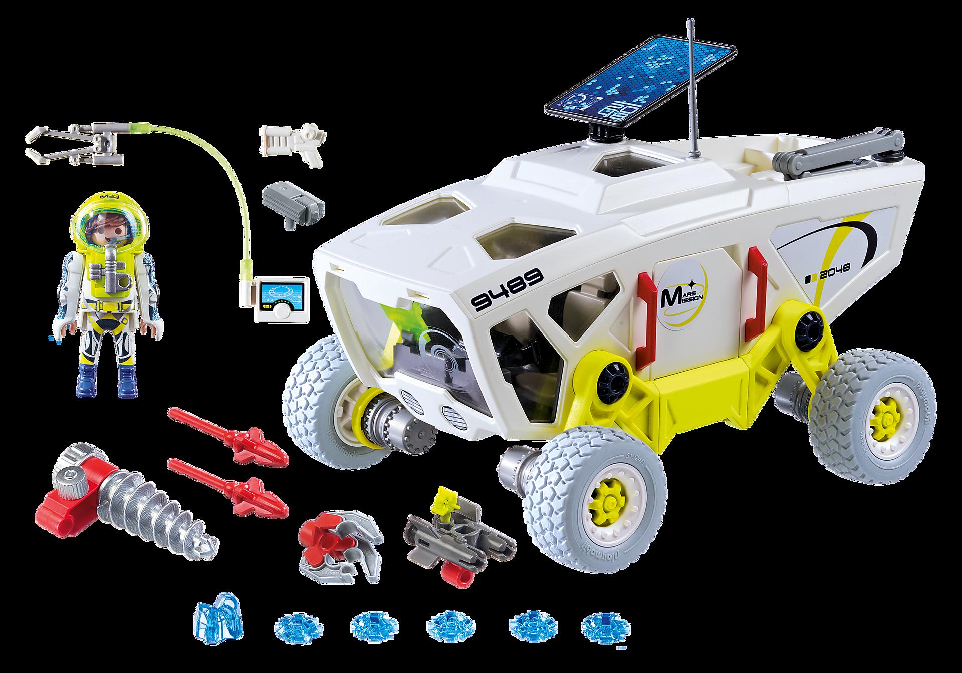 http://media.playmobil.com/i/playmobil/9489_product_box_back/Pojazd badawczy na Marsie