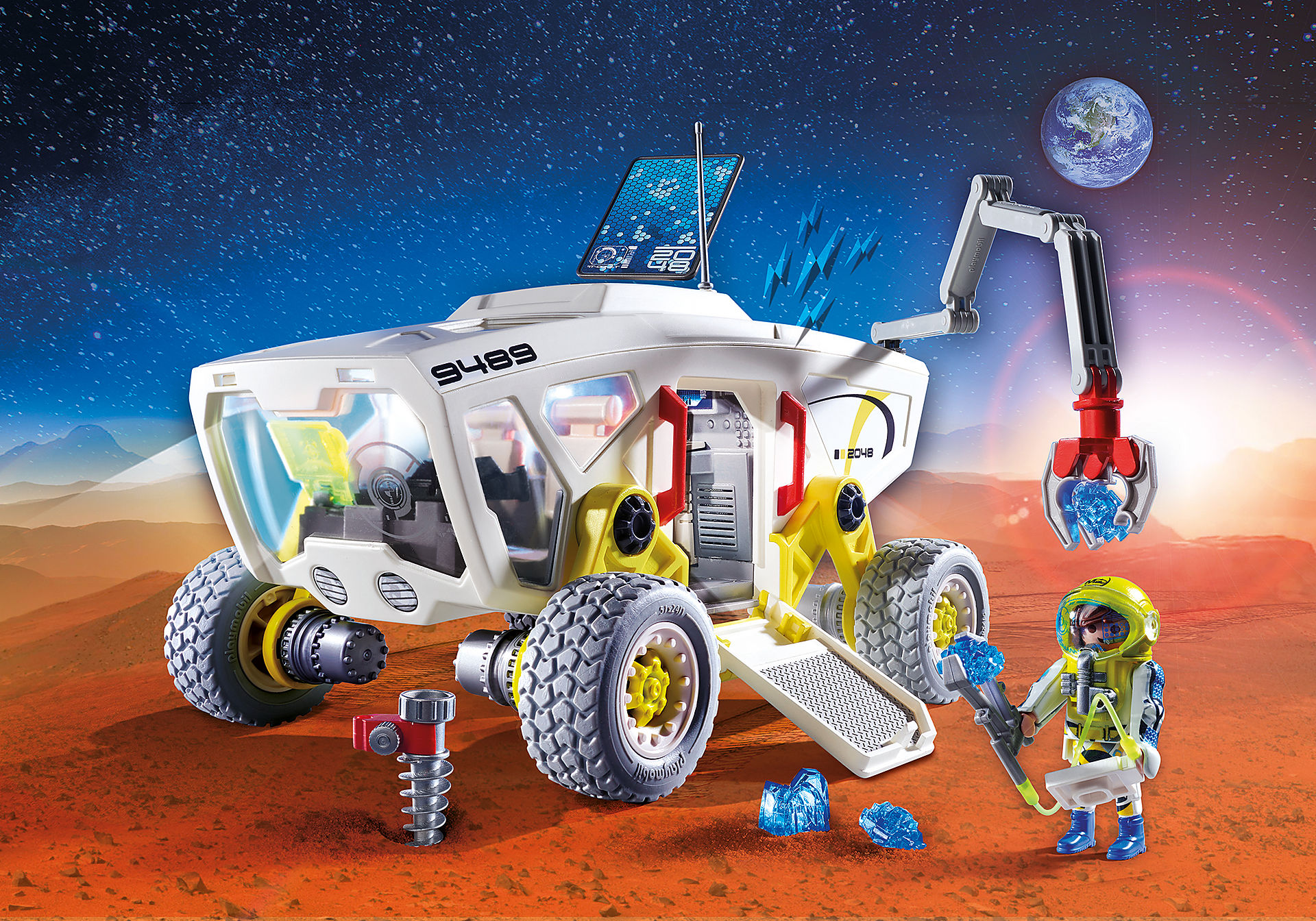 9489 Mars Research Vehicle zoom image1