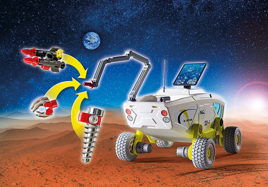 9489 Mars-Erkundungsfahrzeug detail image 4