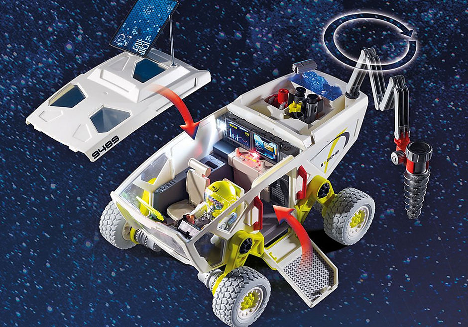 9489 Mars Research Vehicle detail image 6