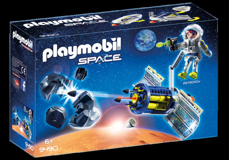 Satellite Meteoroid Laser 9490 Playmobil