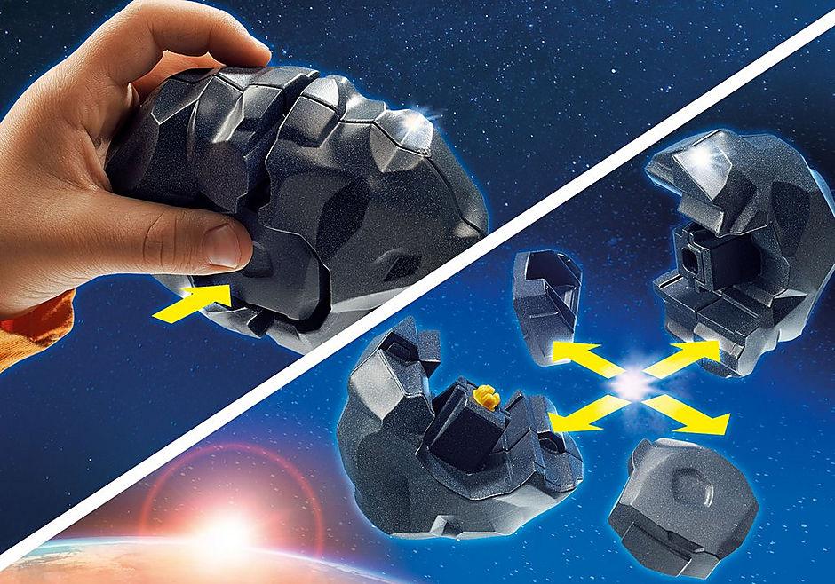 9490 Spationaute avec satellite et météorite detail image 5