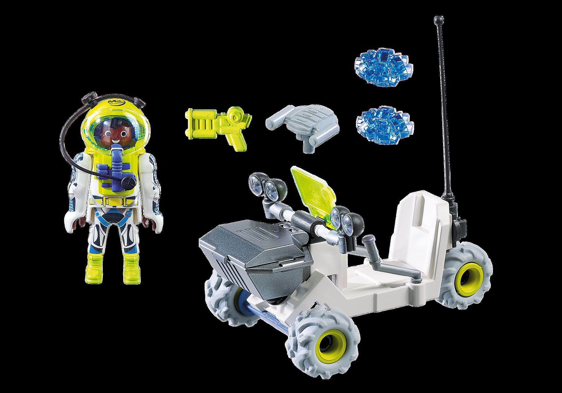9491 Spationaute avec véhicule d'exploration spatiale  zoom image3